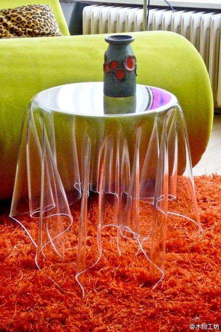 Şeffaflığı Sevenler İçin Şeffaf Mobilya Tasarımları şeffaf mobilya - seffaf sehpa modelleri 5 - Şeffaflığı Sevenler İçin Şeffaf Mobilya Tasarımları