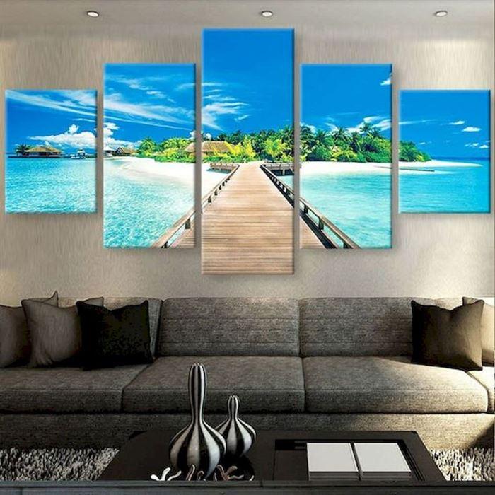 Evinizin Duvarlarına Dikkat Çekici Görsel Görünüm Kazandırın - duvar susleme dekore etme fikirleri 12 - Evinizin Duvarlarına Dikkat Çekici Görsel Görünüm Kazandırın