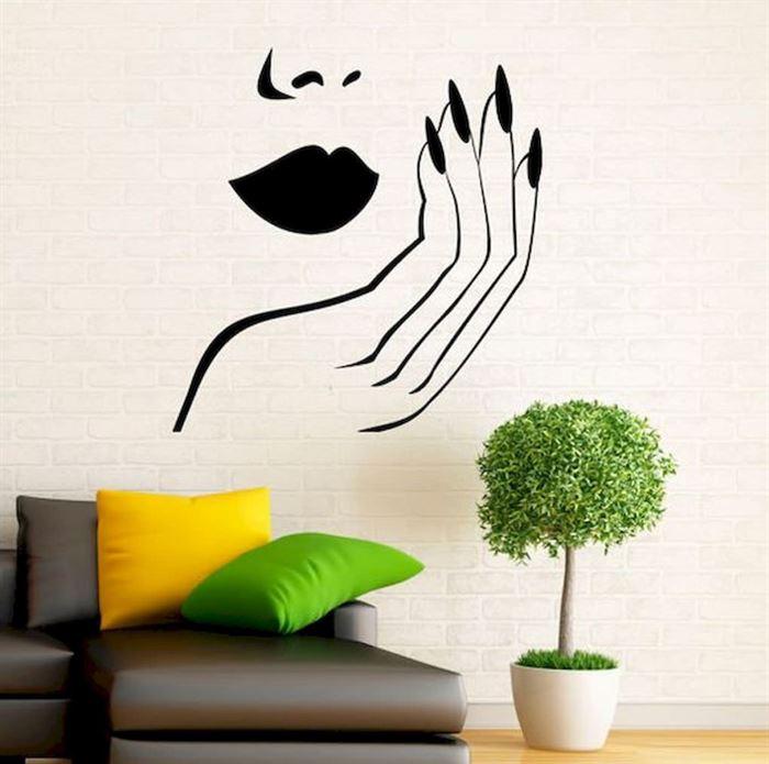 Evinizin Duvarlarına Dikkat Çekici Görsel Görünüm Kazandırın - duvar susleme dekore etme fikirleri 13 - Evinizin Duvarlarına Dikkat Çekici Görsel Görünüm Kazandırın