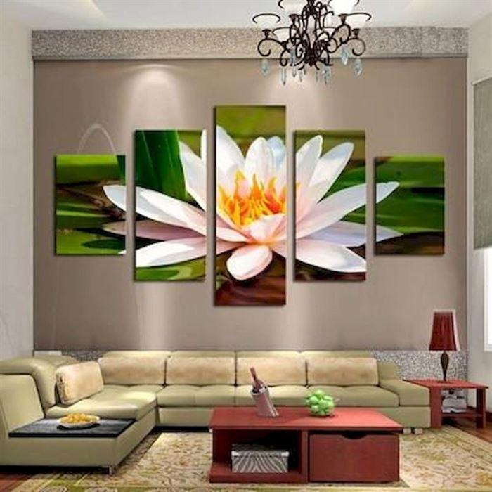 Evinizin Duvarlarına Dikkat Çekici Görsel Görünüm Kazandırın - duvar susleme dekore etme fikirleri 15 - Evinizin Duvarlarına Dikkat Çekici Görsel Görünüm Kazandırın