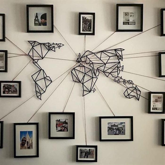 Evinizin Duvarlarına Dikkat Çekici Görsel Görünüm Kazandırın - duvar susleme dekore etme fikirleri 18 - Evinizin Duvarlarına Dikkat Çekici Görsel Görünüm Kazandırın