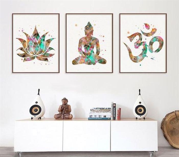 Evinizin Duvarlarına Dikkat Çekici Görsel Görünüm Kazandırın - duvar susleme dekore etme fikirleri 19 - Evinizin Duvarlarına Dikkat Çekici Görsel Görünüm Kazandırın