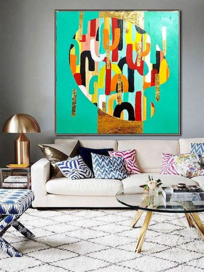 Evinizin Duvarlarına Dikkat Çekici Görsel Görünüm Kazandırın - duvar susleme dekore etme fikirleri 20 - Evinizin Duvarlarına Dikkat Çekici Görsel Görünüm Kazandırın