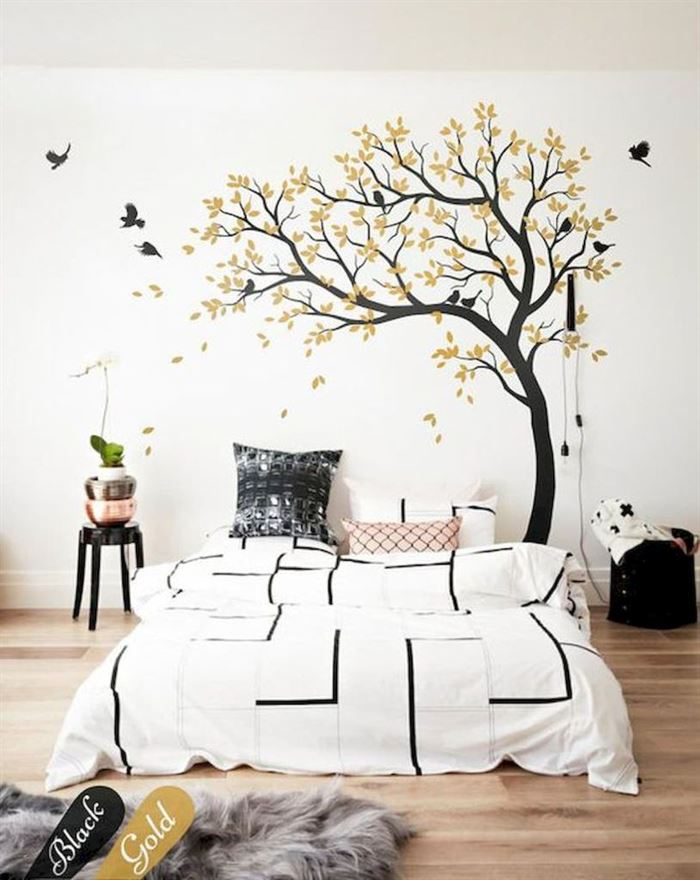 Evinizin Duvarlarına Dikkat Çekici Görsel Görünüm Kazandırın - duvar susleme dekore etme fikirleri 21 - Evinizin Duvarlarına Dikkat Çekici Görsel Görünüm Kazandırın