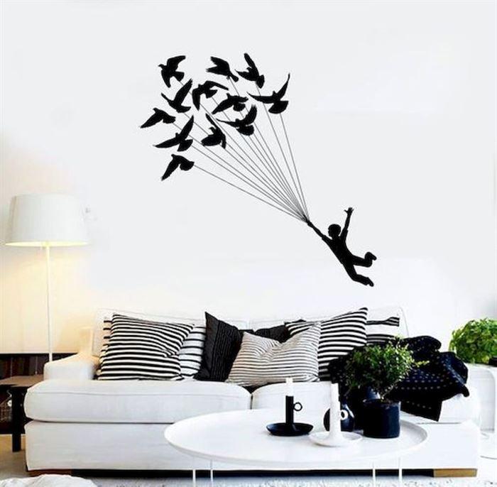 Evinizin Duvarlarına Dikkat Çekici Görsel Görünüm Kazandırın - duvar susleme dekore etme fikirleri 6 - Evinizin Duvarlarına Dikkat Çekici Görsel Görünüm Kazandırın
