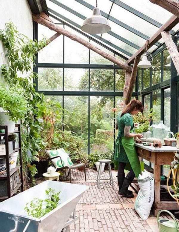 İç Mekanınıza Entegre Güzel Kış Bahçesi Tasarımları 65