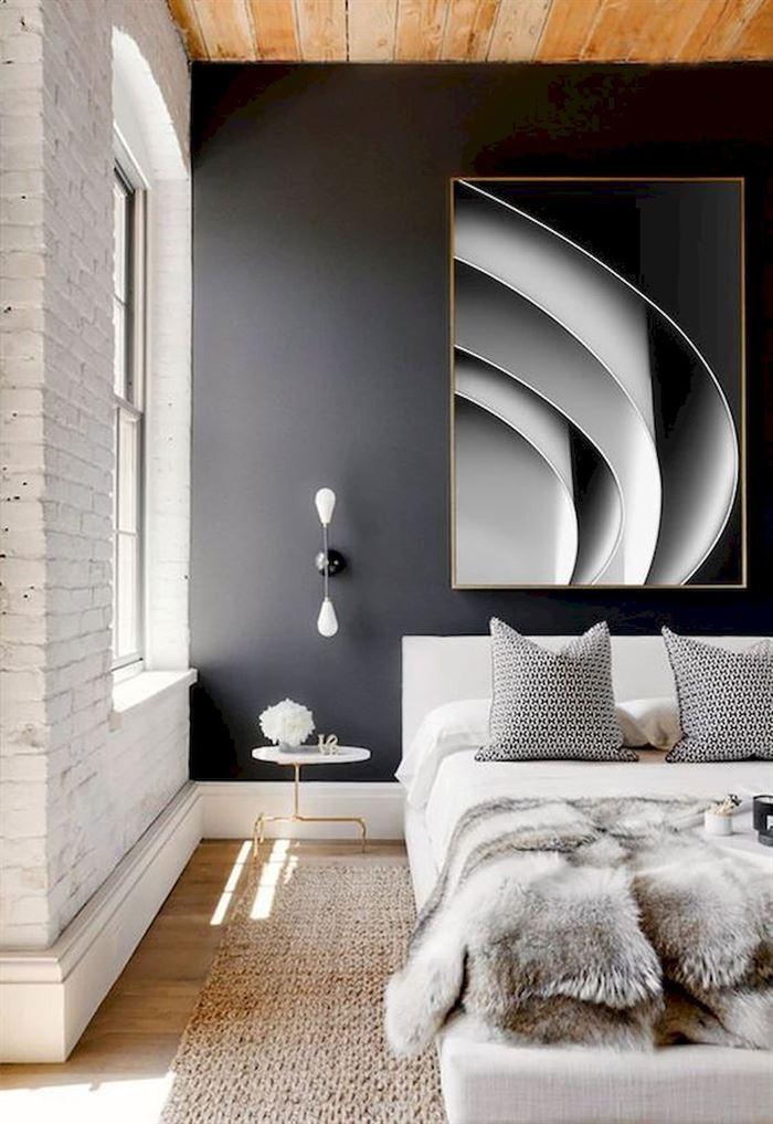 Yaratıcı Çiftler İçin Harika Yatak Odası Fikirleri 77