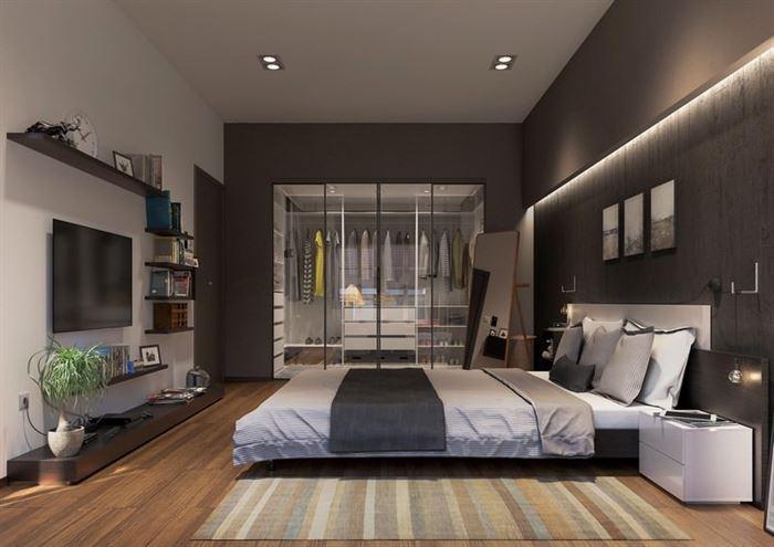 modern yatak odası mobilya fikirleri