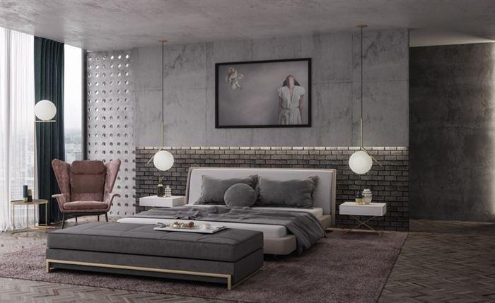 Modern Yeni Tasarım Yatak Odası Dekorasyon Fikirleri 14