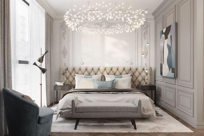 Modern Yeni Tasarım Yatak Odası Dekorasyon Fikirleri 15