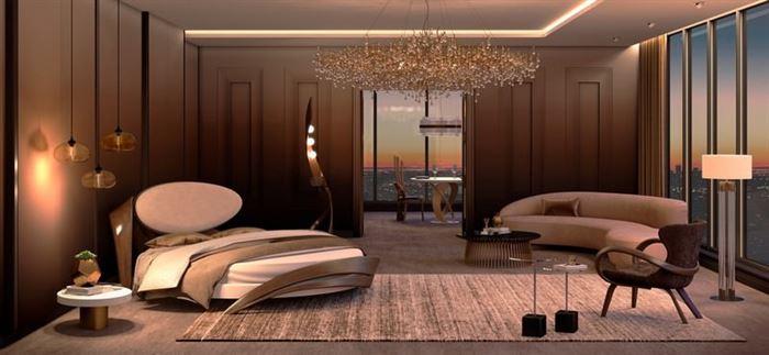 Modern Yeni Tasarım Yatak Odası Dekorasyon Fikirleri 18