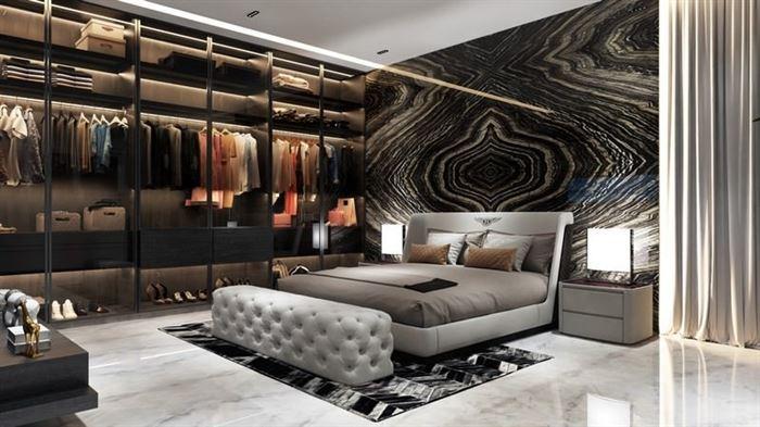 Modern Yeni Tasarım Yatak Odası Dekorasyon Fikirleri 19