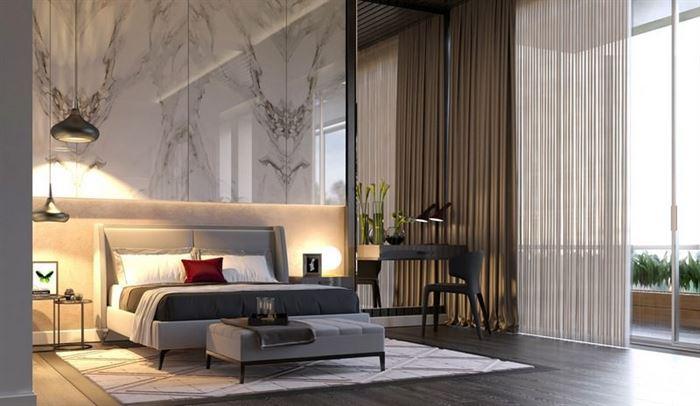 lüks yatak odası dekorasyon fikirleri