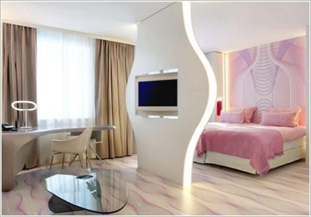 Alçıpan Duvar Ünite Ve Dekorasyon Modelleri 5