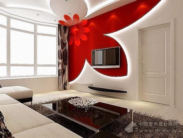 Alçıpan Duvar Ünite Ve Dekorasyon Modelleri 1