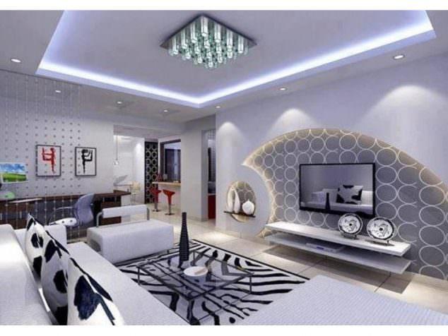 Alçıpan Duvar Ünite Ve Dekorasyon Modelleri 8
