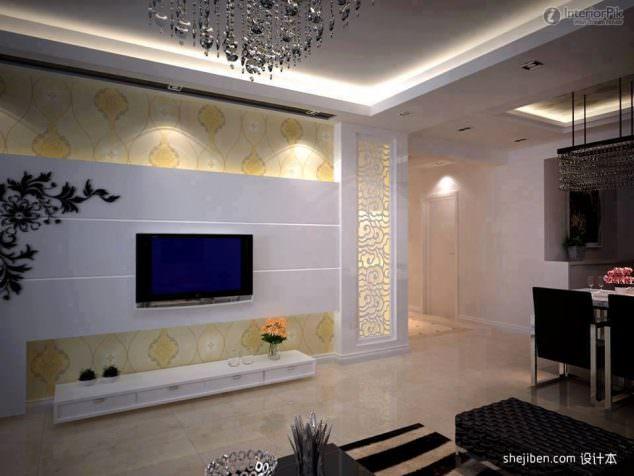 Alçıpan Duvar Ünite Ve Dekorasyon Modelleri 7