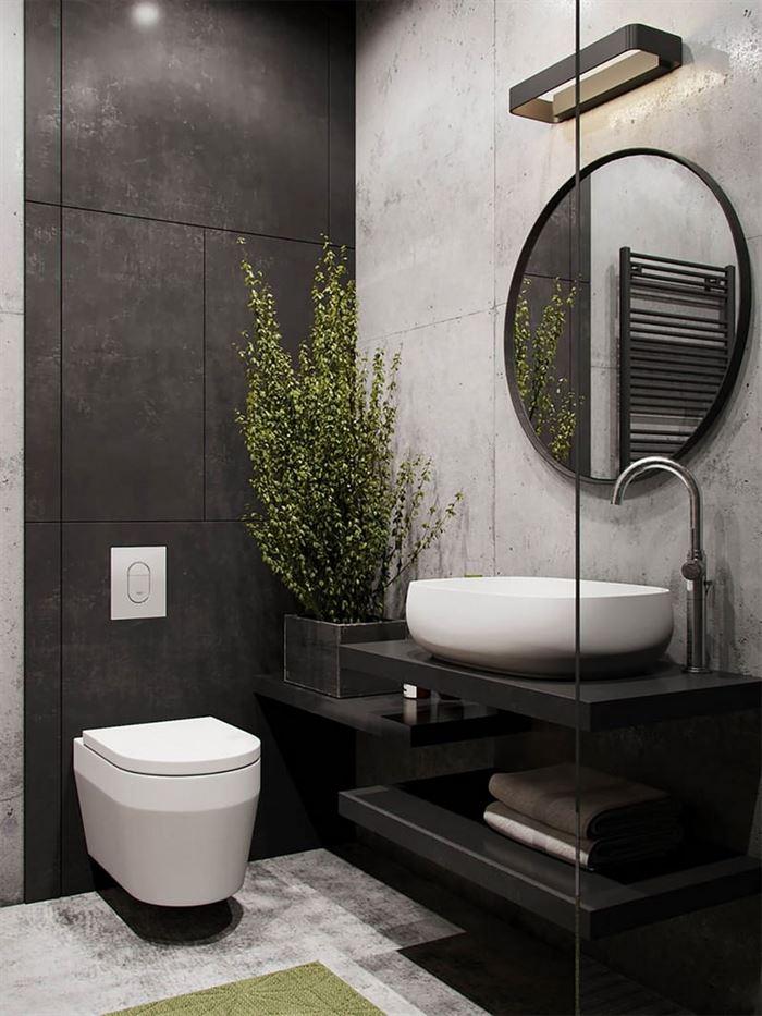 Endüstriyel Tarz Banyo Dekorasyon Stilleri 13