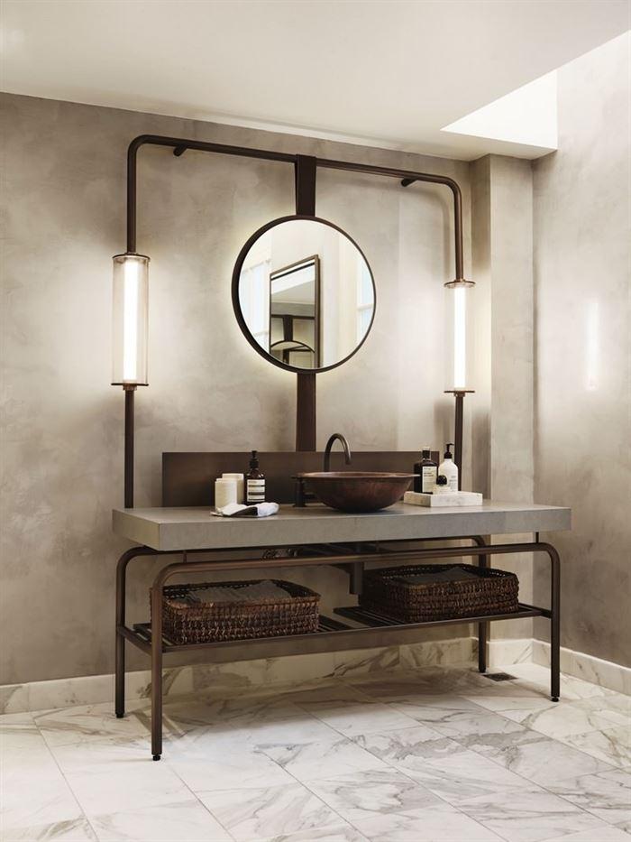 Endüstriyel Tarz Banyo Dekorasyon Stilleri 7