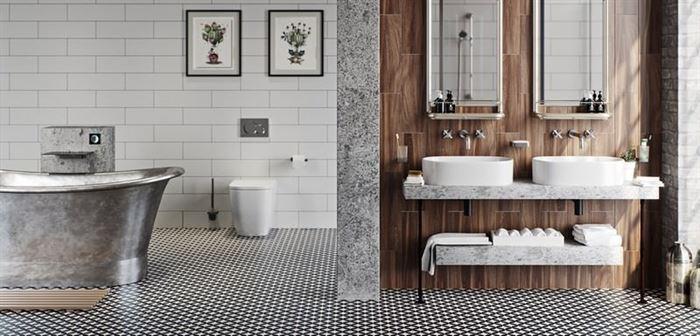 Endüstriyel Tarz Banyo Dekorasyon Stilleri