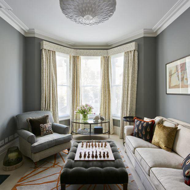 vintage oturma odası dekorasyon stilleri