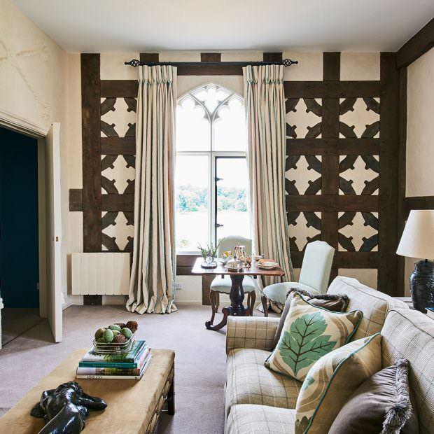 dekoratif oturma odası dizaynı