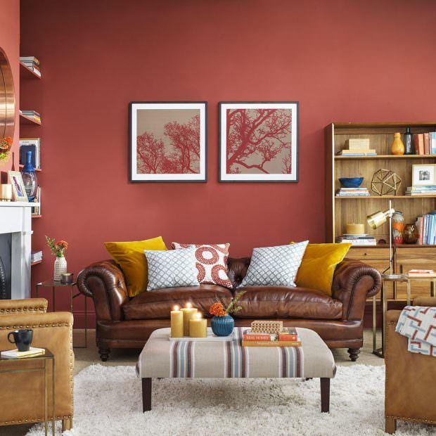 gülkurusu oturma odası dekorasyon stilleri