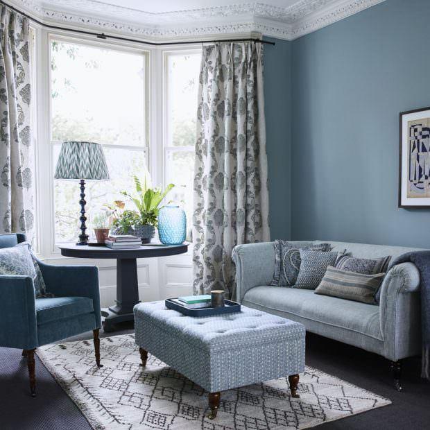 Oturma odasi dekorasyon renk fikirleri