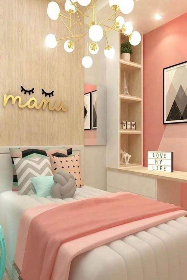 Genç Kız Çocuk Odası Dekorasyon Fikirleri