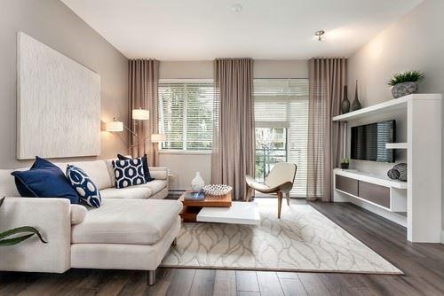 dekoratif dekorasyonlu oturma odası