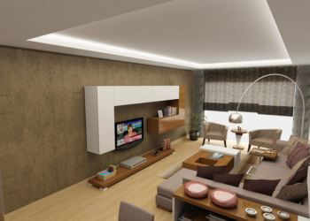 modern dekorasyonlu oda