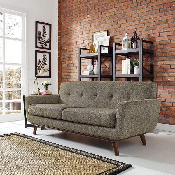keten kumaşlı koltuk modeli