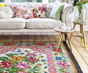 Çiçek Desenleri Ev Dekorunda Kullanmanın Yolları