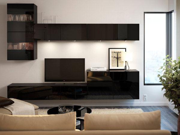 ikea tv vitrinleri