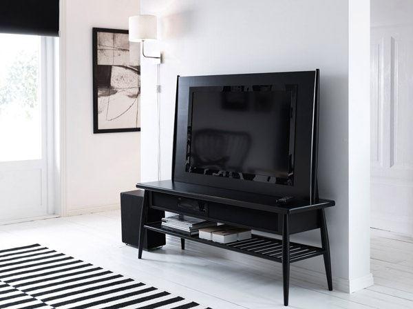 ikea siyah tv ünite
