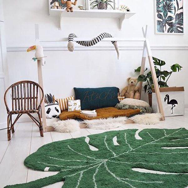çocuk odası doğa temalı duvar kağıtları