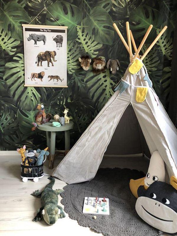 çocuk odası çadır modeli