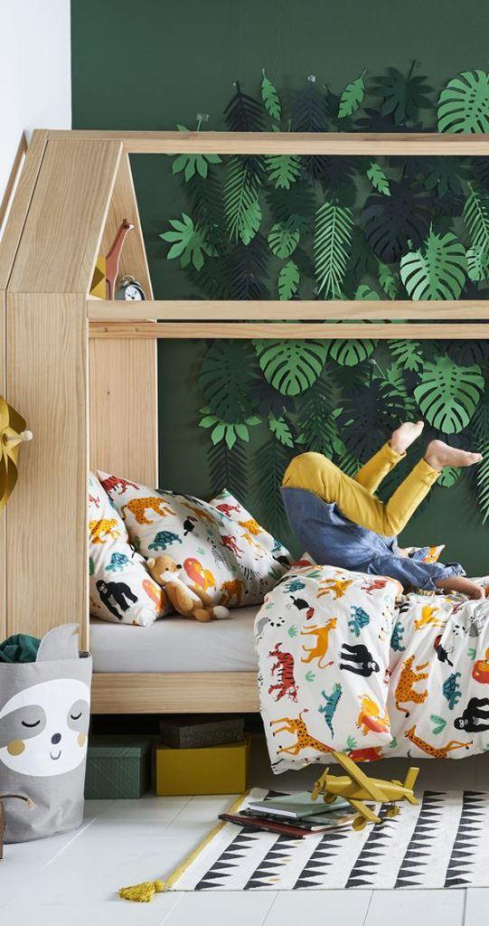 çocuk odası renkli dekorasyon