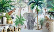 Orman Temalı Çocuk Odası Dekorasyon Fikirleri