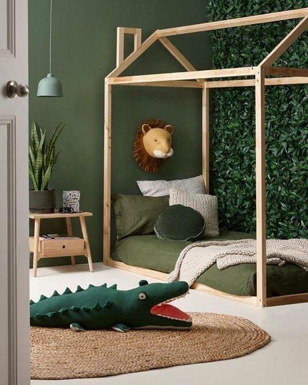 çocuk odası doğa renk düzeni