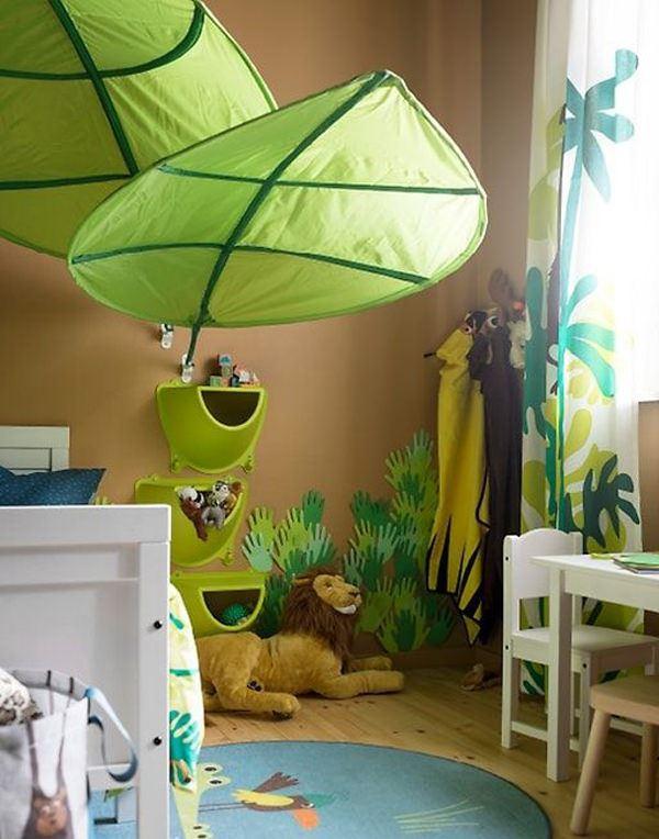 çocuk odası doğa teması