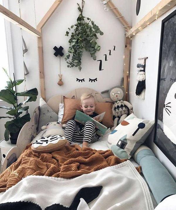 doğadan esinlenen çocuk odası
