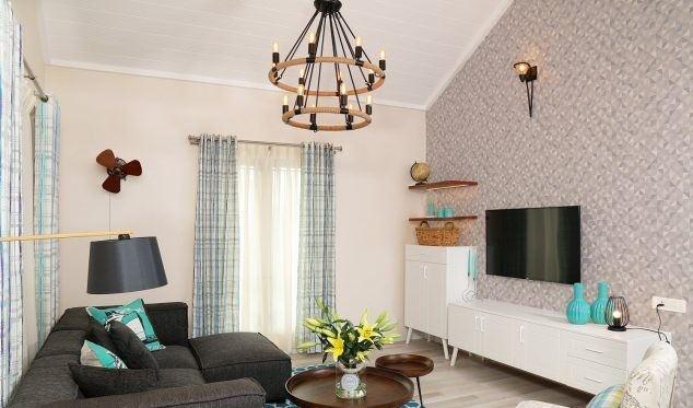 oturma odası lüks dekorasyon