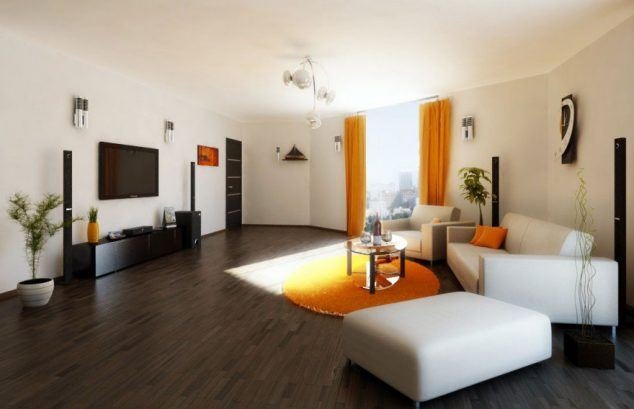 oturma odası modern dekorasyon