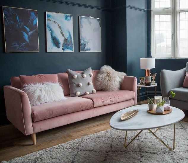 oturma odası rahat kanepe