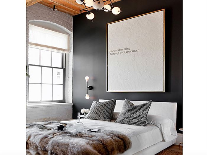 Yatak odası duvar boyası renk fikirleri 16