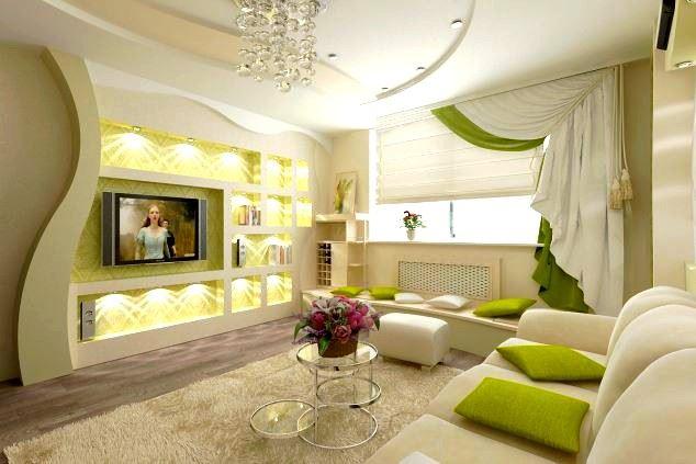 Salon Alçıpan Dekorasyonları ve Renk Seçimleri 15