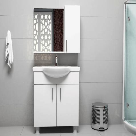 Bauhaus Yeni Banyo Lavabo Dolap Modelleri