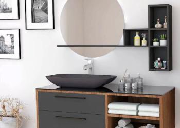 Banyo lavabo dolap modelleri