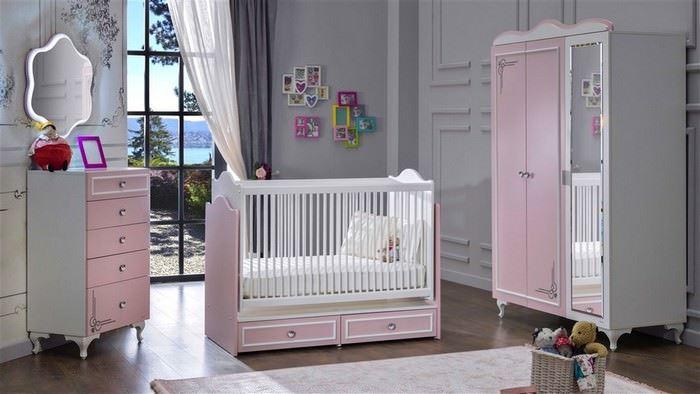 Bellona Mobilya Yeni Tasarım Bebek Odası Takımları 11